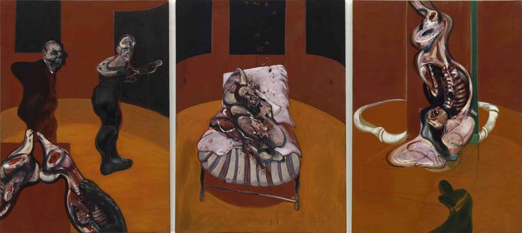 FrancisBacon three studies for a crucifixion / 1962