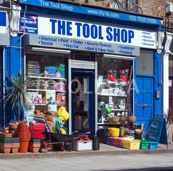 The Tool Shop hardware store London. The Tool Shop, 24 Crawford Street.