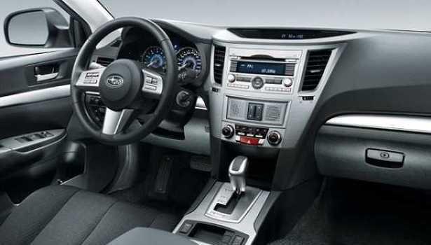 2017 Subaru Outback - interior