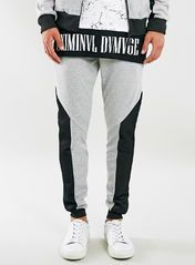 Criminal Damage Grey Joggers*