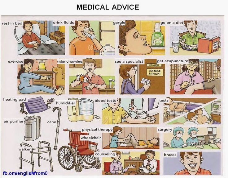 English for beginners: Medical Advice
