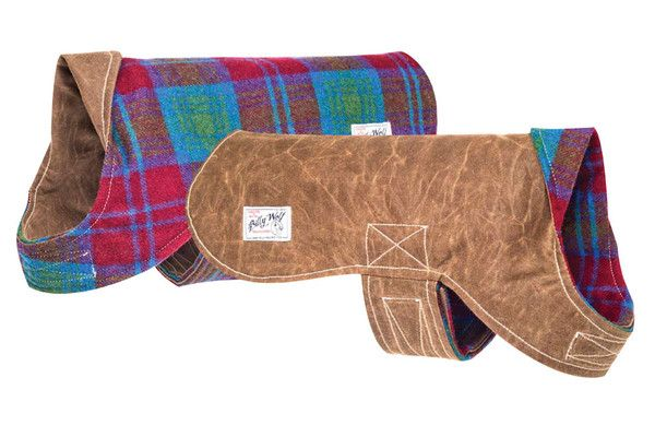 The Rupert waterproof dog coat is classic in design while still being as unique as the dog who wears it.