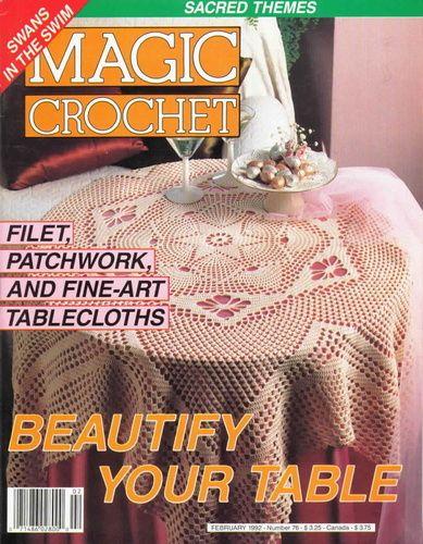 Magic Crochet Nº 76 (1992) - claudia - Picasa Web Albums #crochetmagazine