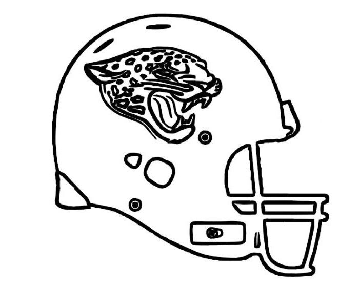 Football Helmet Coloring Pages Cincinnati Bengals Football