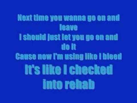 Rihanna Rehab Lyrics