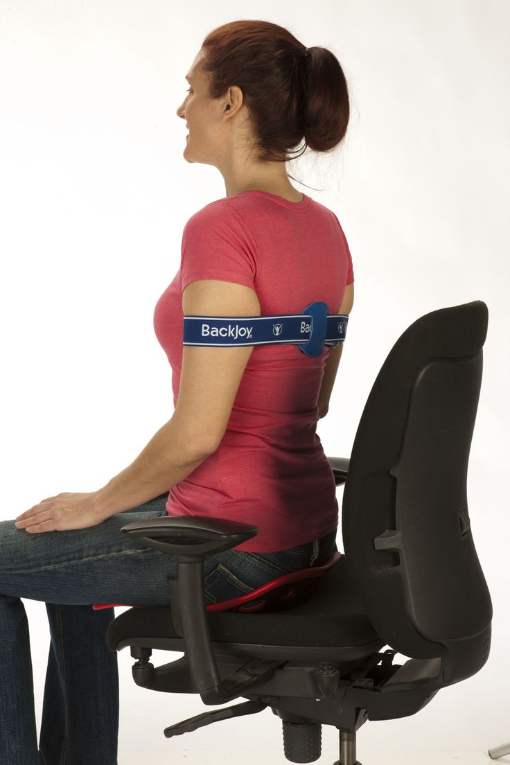 Band posture chair - Backjoy Posture Band Gently Pulls The Shoulders Back To Correct Posture Reduce