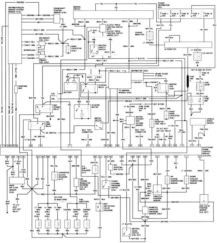 1998 Ford Ranger Wiring Diagram Elegant, 2000 Ford Ranger Wiring Diagram