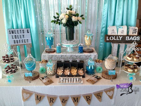 Tiffany Sweets & Lolly Buffet