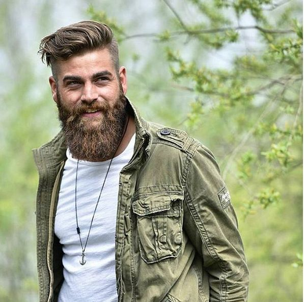 Fotos sexys de hombres lumbersexuales y la definición de esta nueva tendencia de…