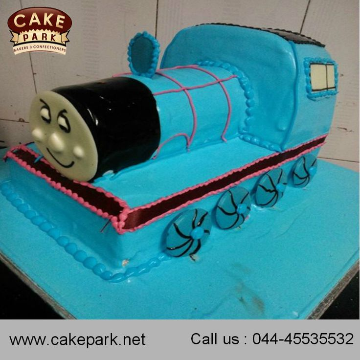 Take a look at the coolest #Traincakes. You will also find the most amazing #photocakes for your kids #birthday.  Visit us : http://www.cakepark.net Call us : 044-45535532