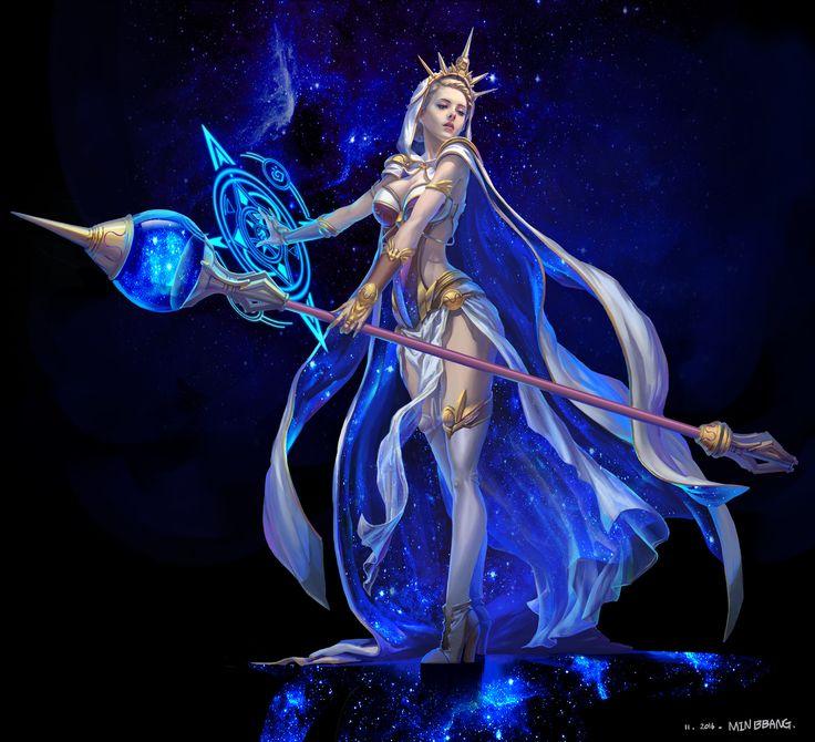 ArtStation - Universe magician, Song Min