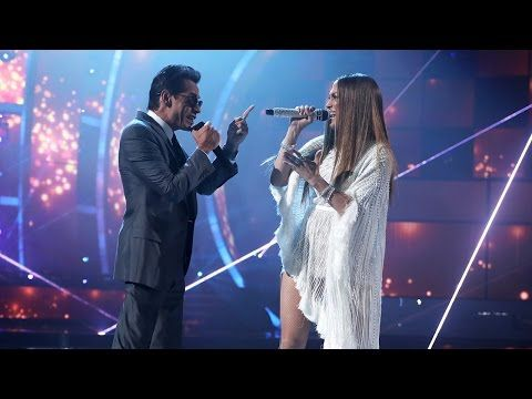 Marc Anthony & Jennifer López performance (Beso) - Latin Grammys 2016 HD - YouTube