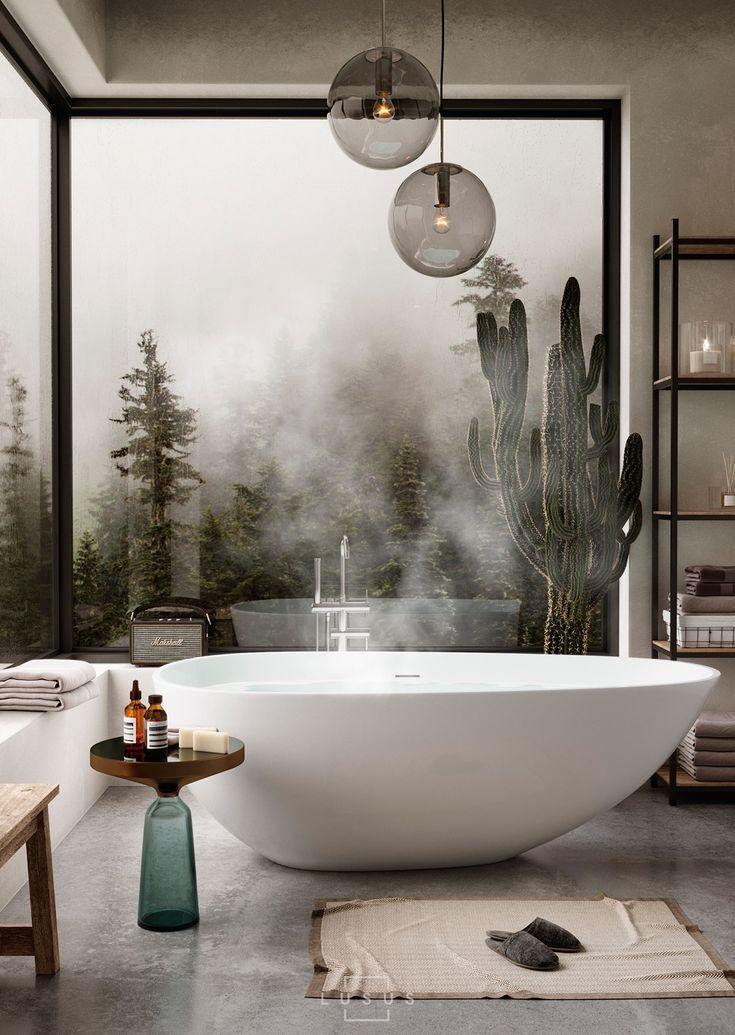 50 Luxusbadezimmer und Tipps, die Sie von ihnen kopieren können