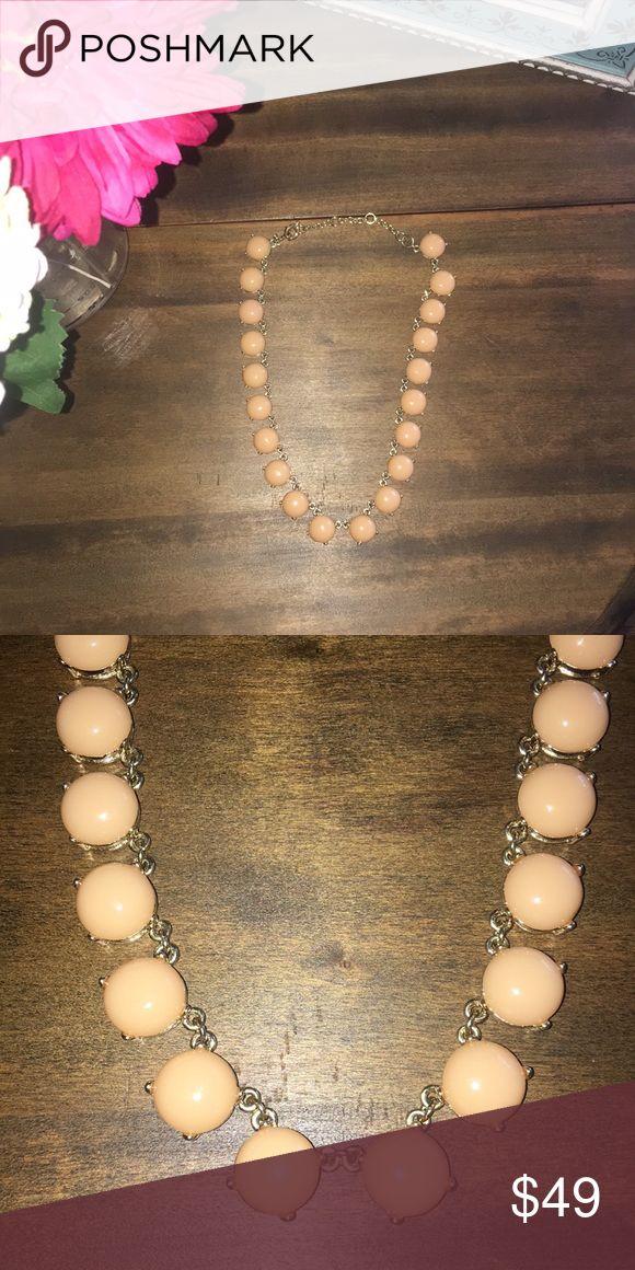 Jcrew peach necklace Jcrew peach necklace J. Crew Jewelry Necklaces