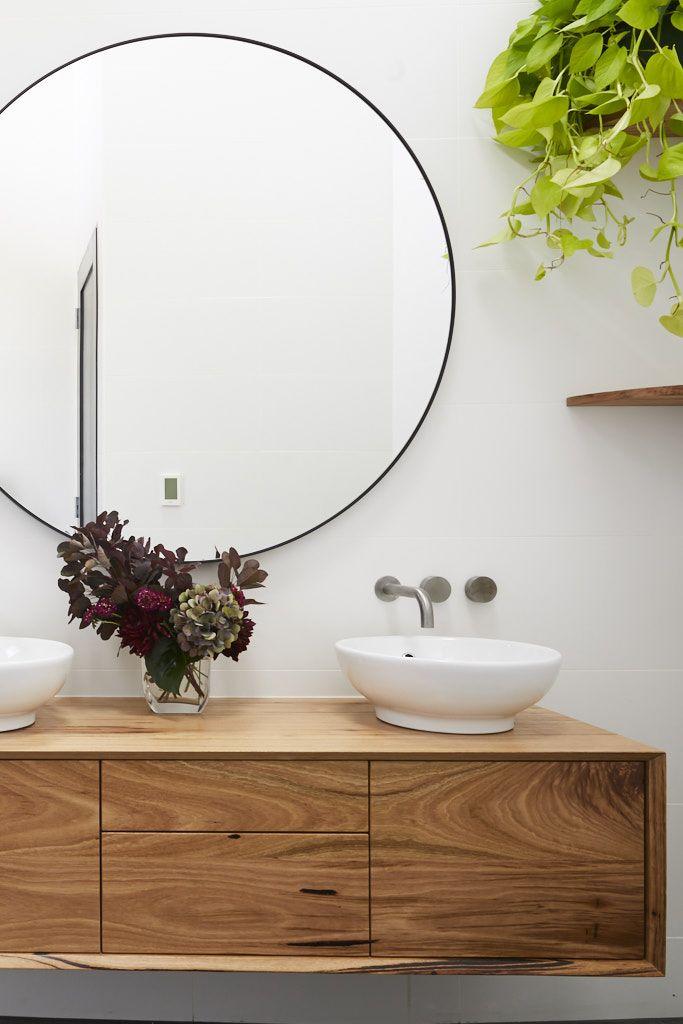 bathroom highlights from the block 2018 powder wash bath room rh pinterest com