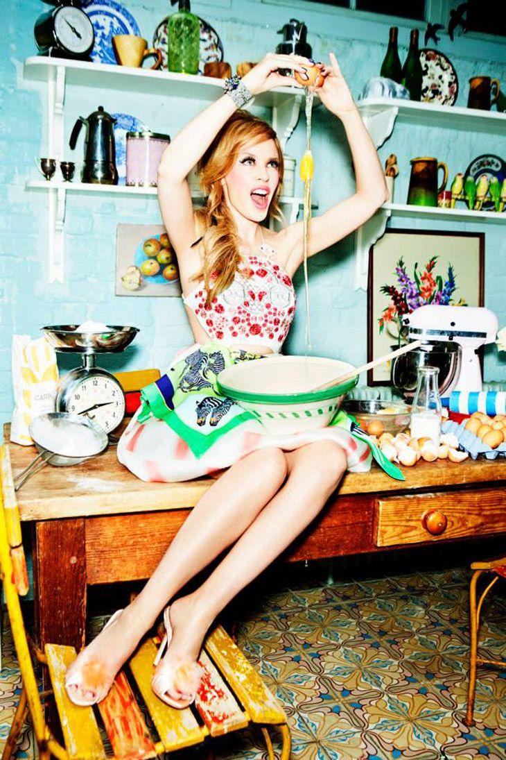Kylie Minogue for Stylist by Ellen Von Unwerth for Stylist Magazine