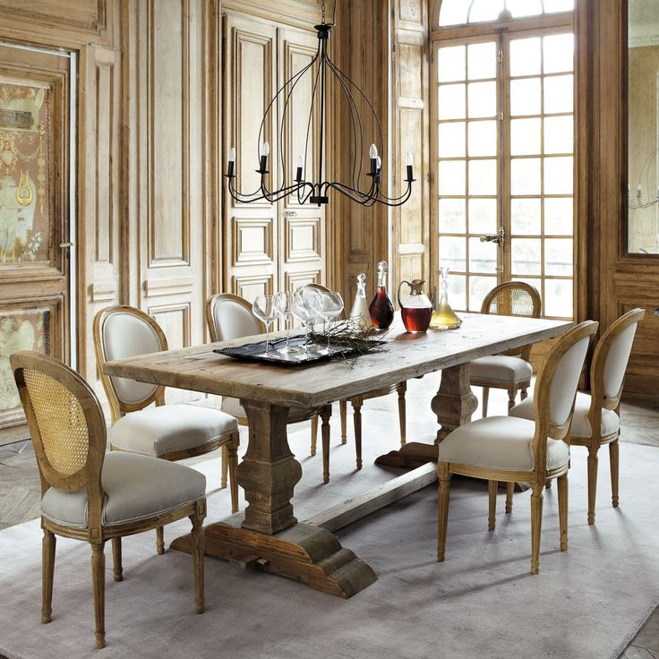 1000 images about dine me on pinterest natural wood - Table salle a manger metal et bois ...