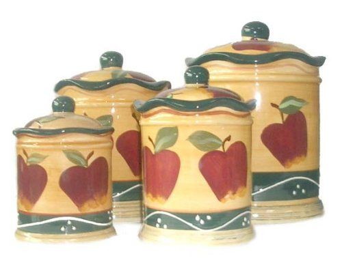 Country Apple Canisters Sets 500 X 378 27 Kb Jpeg