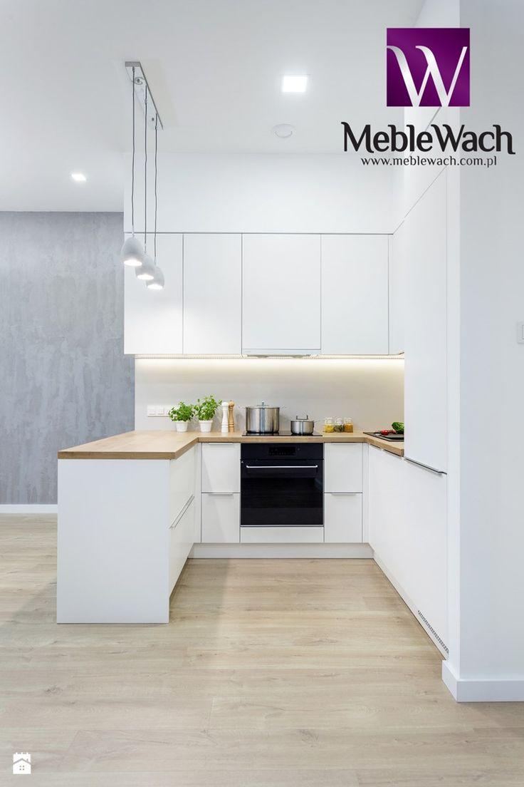 Otwarta kuchnia w bieli hola design homesquare - Meble Wach Realizacja Warszawa Mokot W Zdj Cie Od Meble Wach Meble Na Wymiar