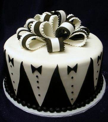 Groom' Tuxedo Cake great for bachelor party!
