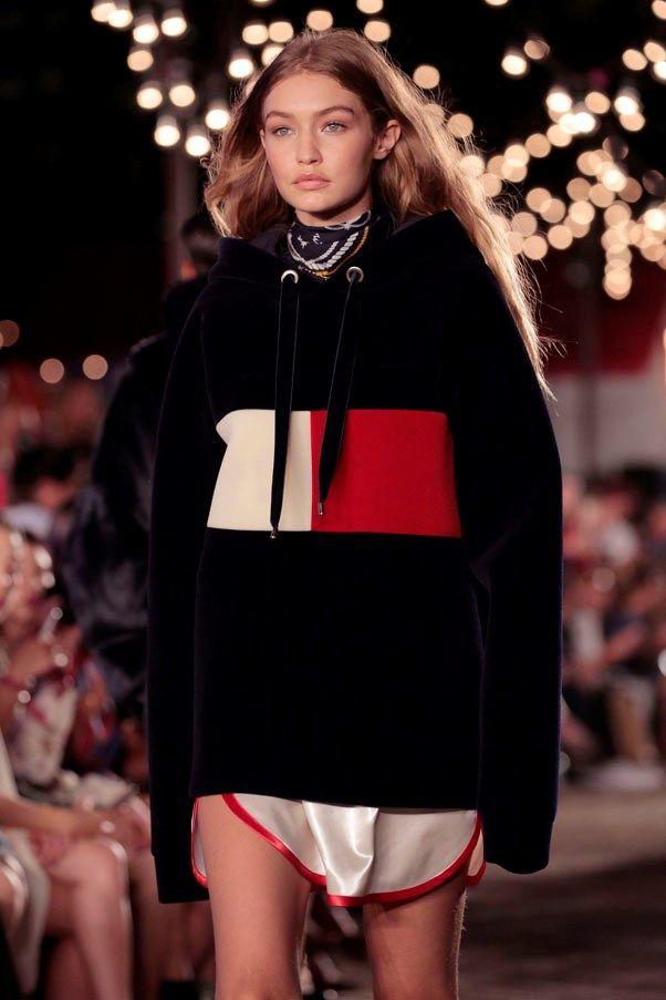Linea de Gigi Hadid para Tommy Hilfiger en la Fashion Week de NY 2016