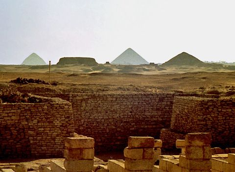 11 best investigating all mysteries of ancient egypt images on view towards dahshur from south saqqara fandeluxe Gallery