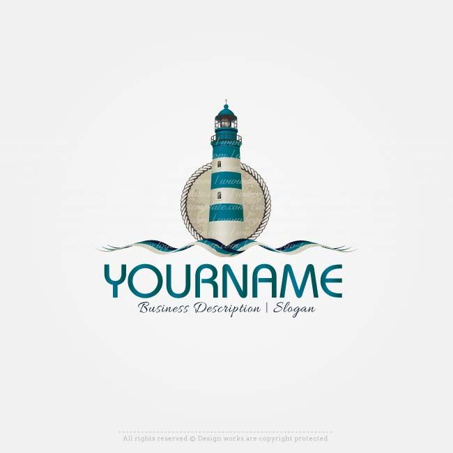 Create A Logo Template Lighthouse Top Real Estate Designs Collection Beach Templates