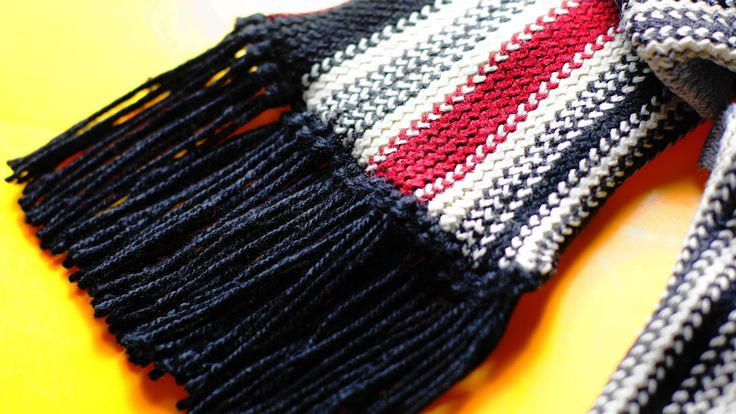 Adding fringe to a knitted or crocheted scarf, blanket, or poncho is easy and fun to do. Plus, it adds a finished touch to your project. Start by choosing something to wind your yarn around. You can use a small book, a CD or DVD jewel...