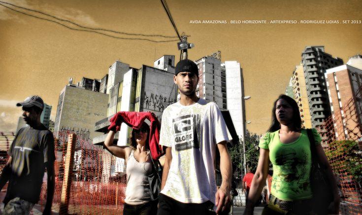 https://flic.kr/p/wAMHKd | Street Photography 34 BH | Paisaje Urbano / Artexpreso . Rodriguez Udias ..