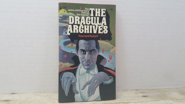 The Dracula Archives, 1973, Raymond Rudorff, vintage horror book, vintage book by RandomGoodsBookRoom on Etsy