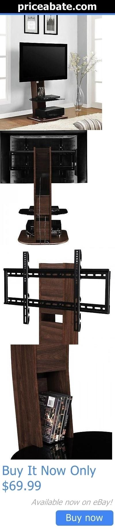 Entertainment Units TV Stands: Elegant Tv Mount Stand Media Entertainment Console Center Home Theater Furniture BUY IT NOW ONLY: $69.99 #priceabateEntertainmentUnitsTVStands OR #priceabate