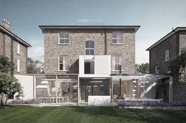 Architect designed house extension costs