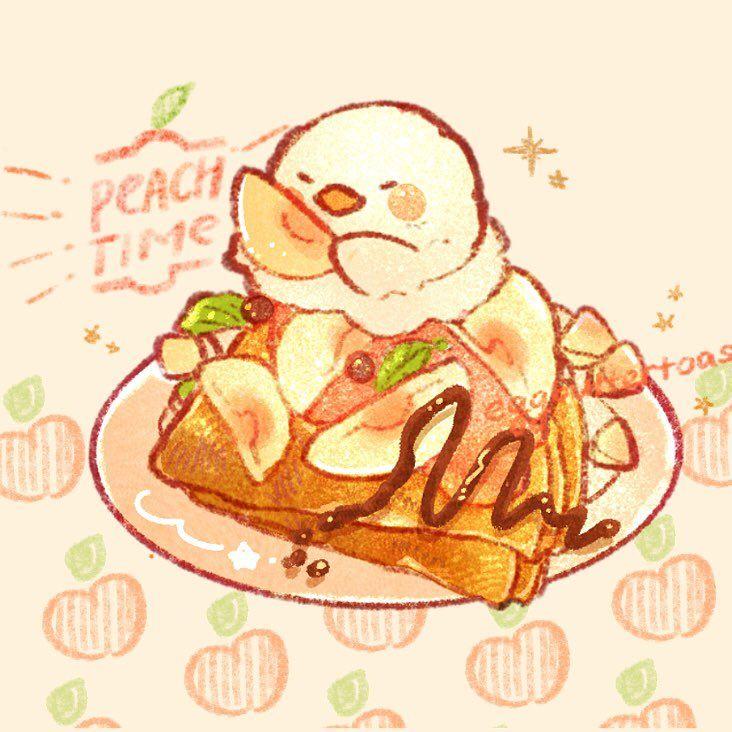 Https Twitter Com Bestrollever Media Cute Food Art Cute Drawings Cute Cartoon Wallpapers Chibi anime food wallpaper