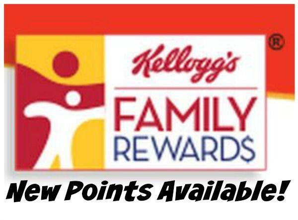 100 Kellogg S Family Rewards Points Reward Coupons Happy People