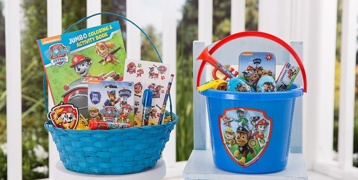 Build Your Own PAW Patrol Easter Basket - Party City