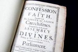 Westminster Confession of Faith (WCF) and London Baptist Confession (LBC) side by side for comparison