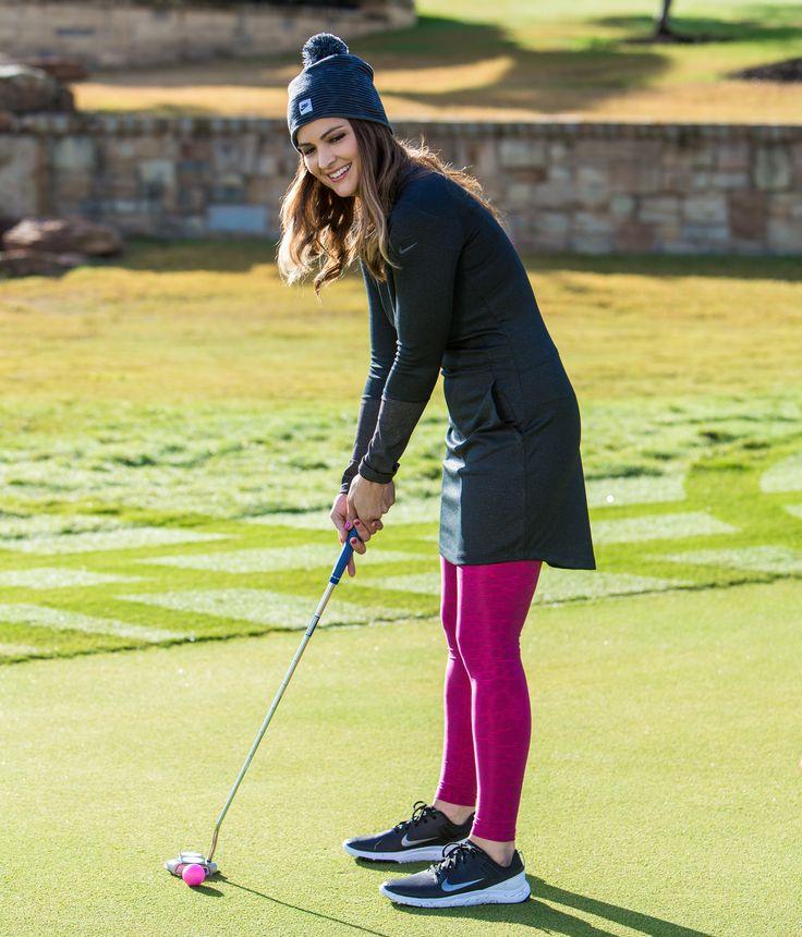 Cute Womens Golf Apparel Nike Ponte Golf Dress For Fall