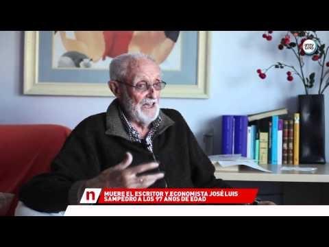 MUERE EL ESCRITOR Y ECONOMISTA JOSE LUIS SAMPEDRO - 09/4/2013