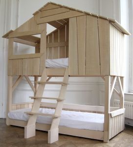 Kids Playhouse Beds from Mathy by Bols: Loft, Treehouse, Canopy