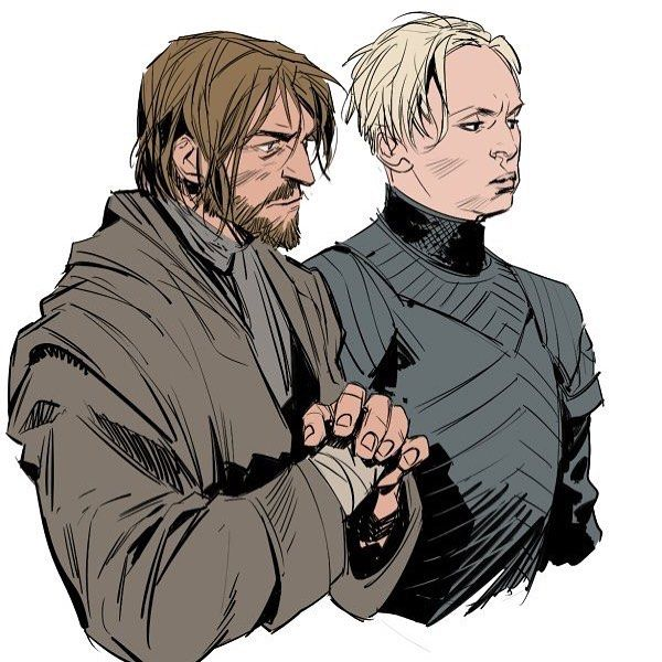 """Game of Thrones (GOT) example #420: Good flat colour figure study reference, Game of Thrones fan art - @xafeelgood on Instagram: """"#ga..."""
