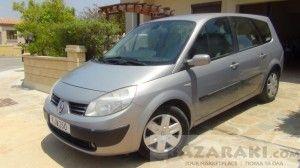 Renault Grand Scenic, 2004, 1600cc, € 2,900 on www.bazaraki.com ( ID 1131544)