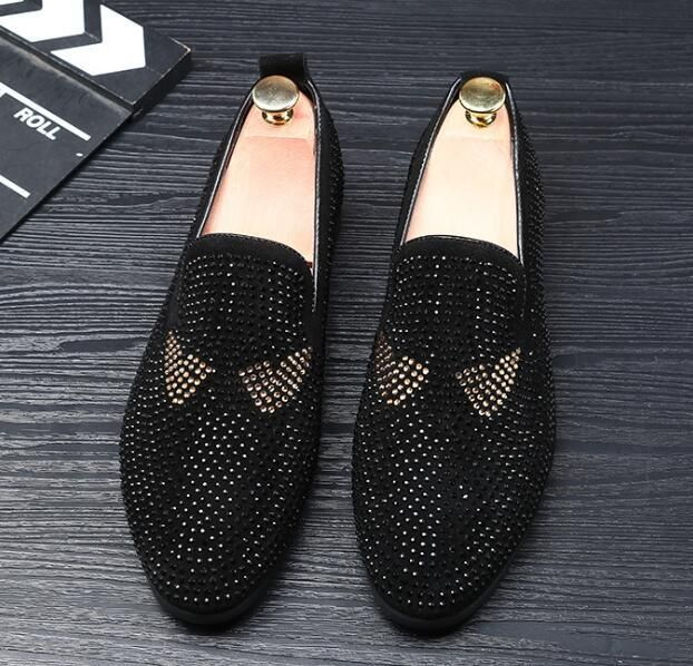 2018 Man Point Toe Dress Shoe Casual