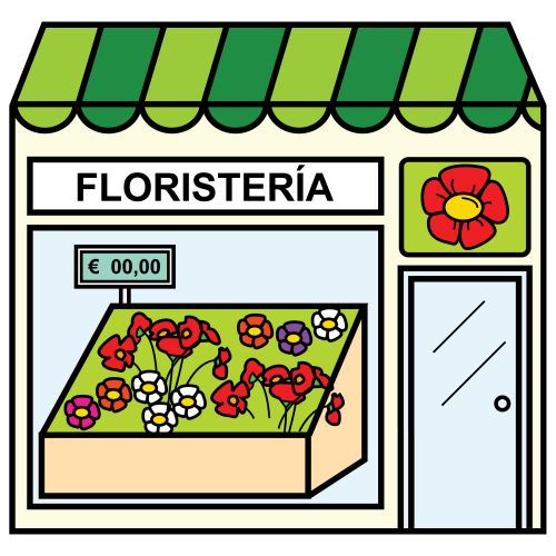 Pictogramas ARASAAC - Floristería.