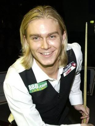 Paul Hunter (Eng). Masters Champion 2001,02,04. Welsh Open 1998,2002. British Open 2002. Grand Prix Furth 2004 (renamed Paul Hunter Classic). Died from cancer 2006 aged 27.