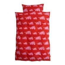 Kinder Bettwäsche Moody Mule rot von Roommate