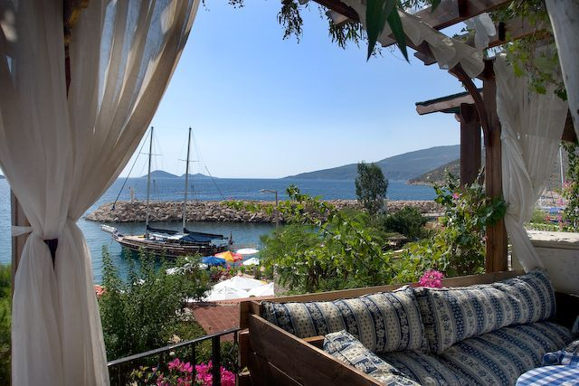 Kalkan, Turkey. What are we doing living here, I need to be there!