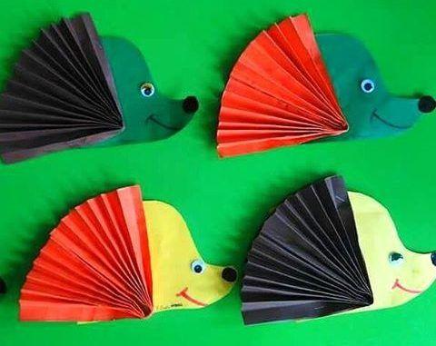 Hedgehog craft idea for kids   Crafts and Worksheets for Preschool,Toddler and Kindergarten