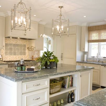 Green A Good Accent Color Kitchens Pinterest Kitchen