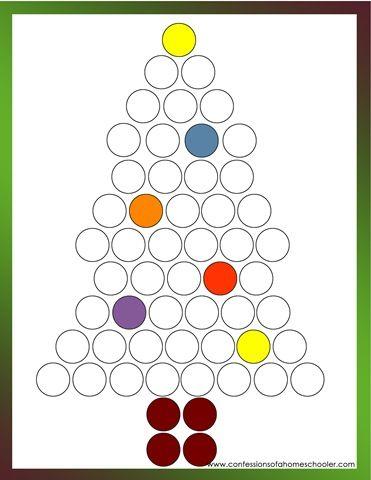 Do it Dot  Marker Christmas Tree