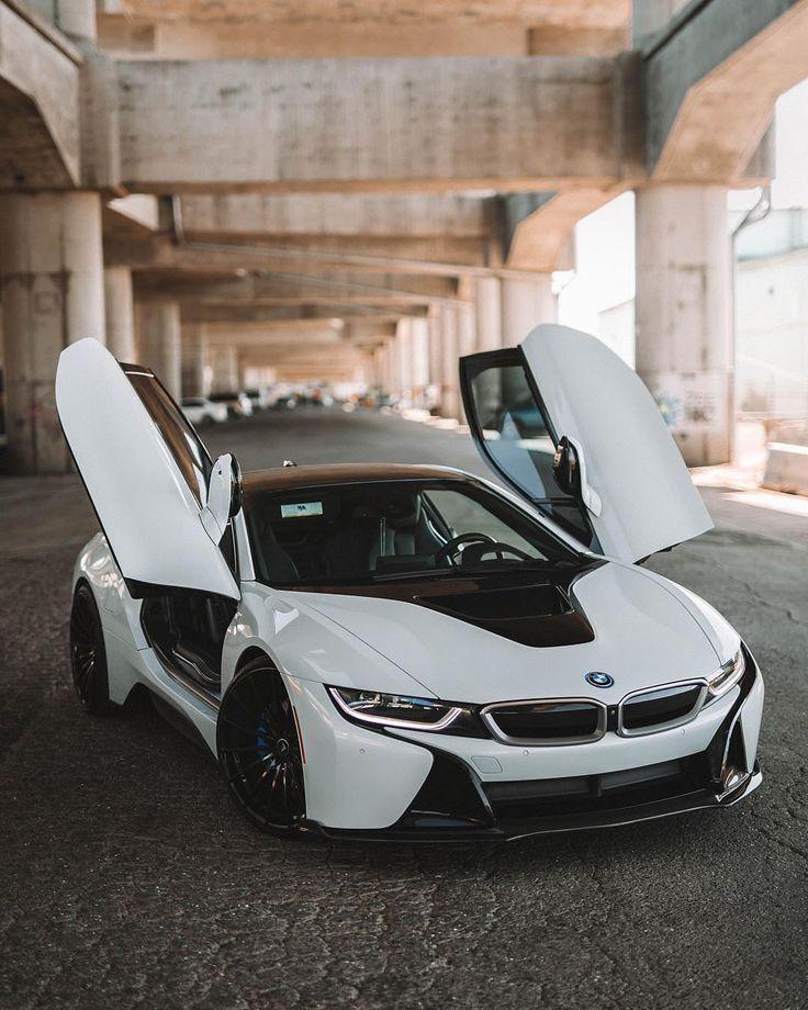 Bmw I8 White Car Bmw I Bmw I8 Top Luxury Cars